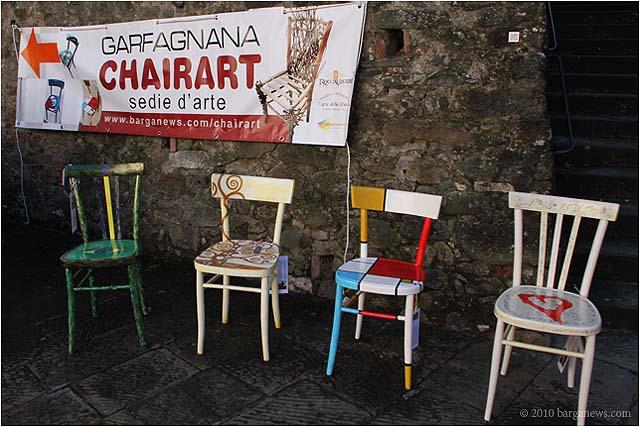 Chairart 2011 una sedia per tutti v 3 0 for Sedie decorate da artisti