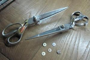 Tailoring shears