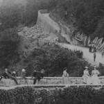 Il ponte di Catagnana, detto di S. Cristofano, prima che fosse minato dai tedeschi